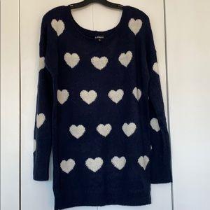 Express Heart Sweater 💙